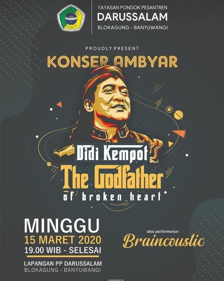 Konser Ambyar Didi Kempot Darussalam Banyuwangi Promotion Your