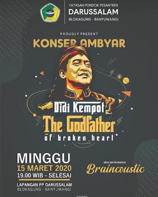 Konser Ambyar Didi Kempot Darussalam Banyuwangi