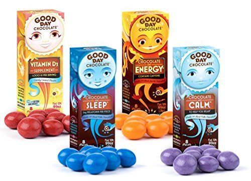 Good Day chocolate supplements - great adults stocking stuffer they will really use