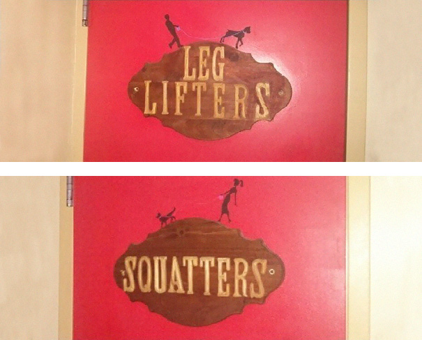 20+ Of The Most Creative Bathroom Signs Ever - Bathroom Sign