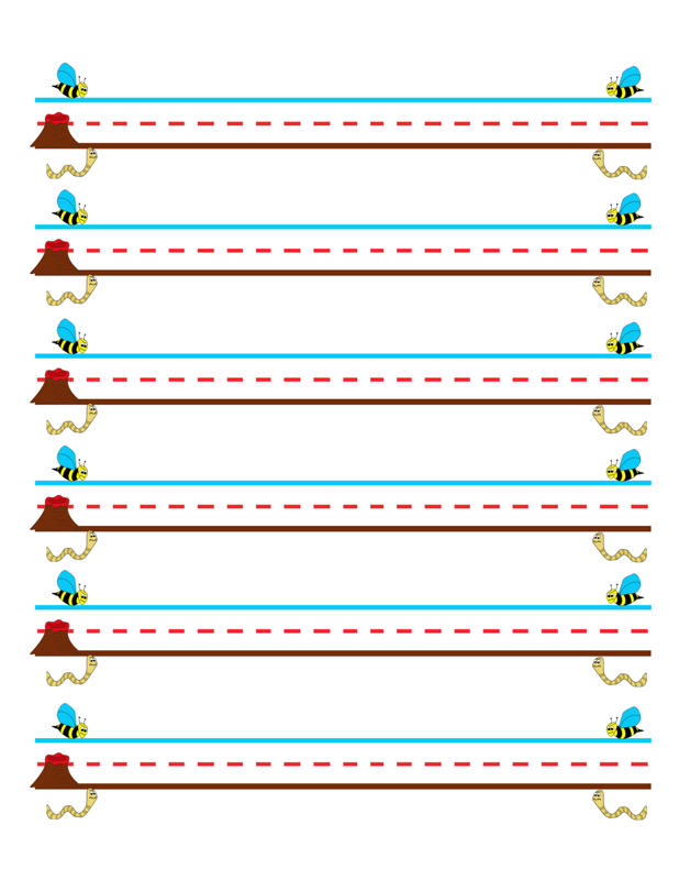 Lava Paper – Teach Sizing and Baseline orientation – Handwriting ...