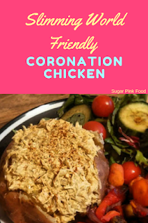 Slimming world coronation chicken recipe