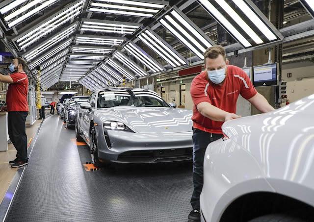 Porsche voltar a fabricar carros esportivos na Alemanha