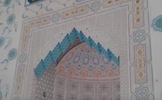 ديكورات الجبس المغربي في المسجد