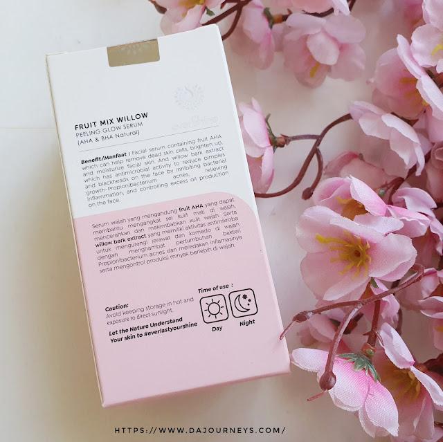 Review everShine Fruit Mix Willow Peeling Glow Serum