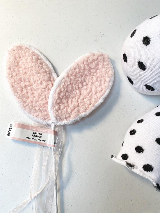 bunny ears and socks