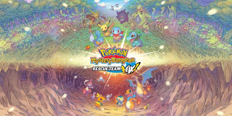 Pokemon Mystery Dungeon Rescue Team DX - Logo oficial