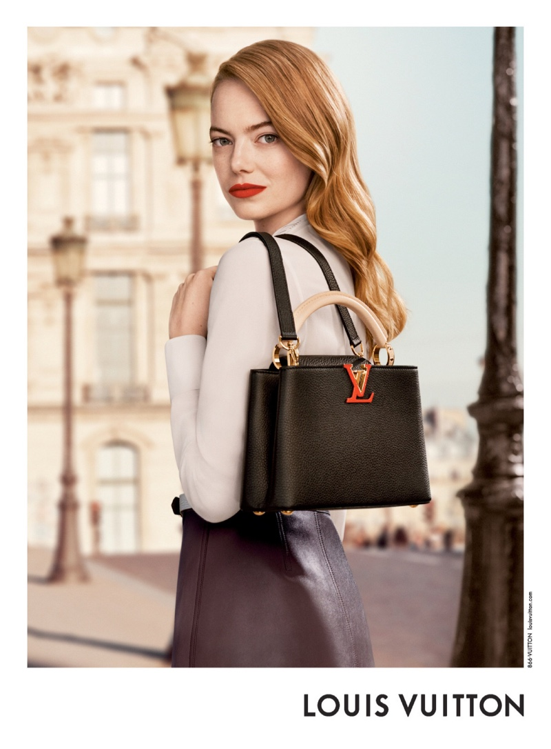 Emma Stone stars in Louis Vuitton pre-fall 2020 campaign