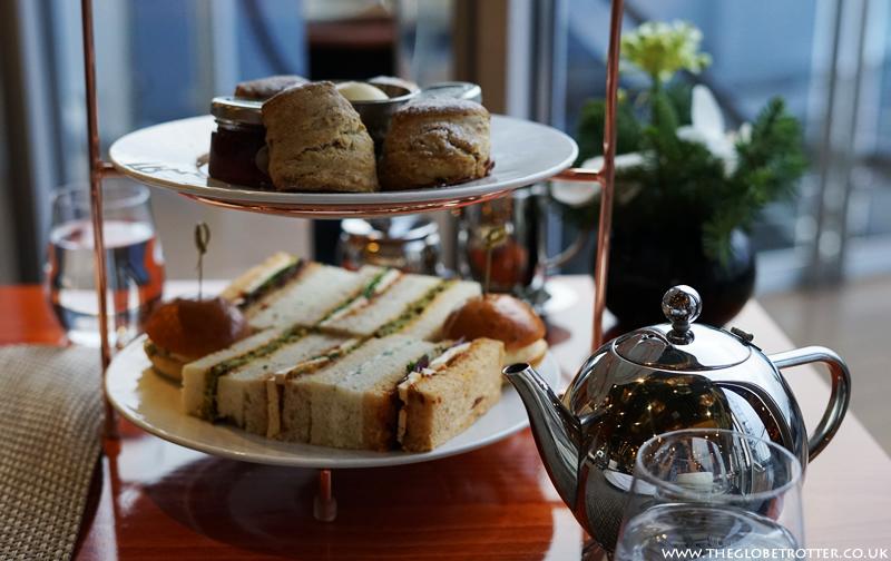 Sunborn London - Festive Afternoon Tea