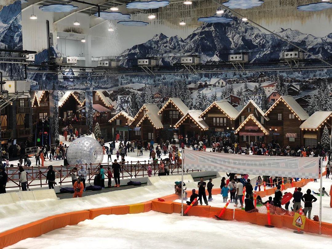 Harga Tiket Masuk dan Lokasi Trans Snow World Juanda Bekasi