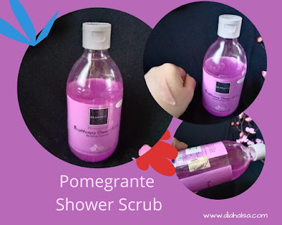 Pomegrante Shower Scrub