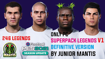 PES 2021 SuperPack AIO Legends by Junior Mantis