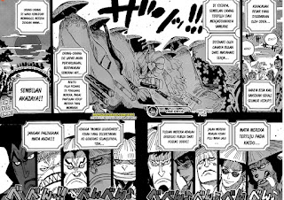 One Piece Chapter 969 : Ungkap Pertemuan Oden dan Kaido