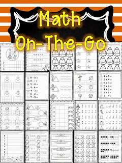 Quick and Easy Activities for October- freebies and other quick printables