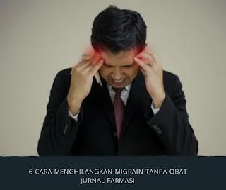 Ada banyak obat untuk penghilang rasa sakit yang tersedia untuk semua jenis sakit kepala.Namun, obat-obatan tersebut dapat mengakibatkan efek samping... berikut ini 6 cara menghilangkan migrain tanpa obat