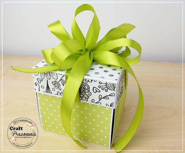 limonkowo-cytrynowy box ślubny