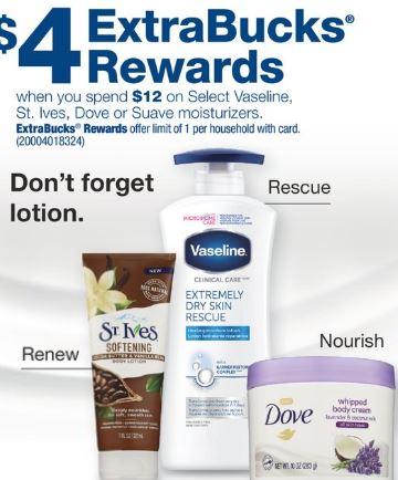 CVS Vaseline Lotion Coupon Deal $0.79 9-29-10-5