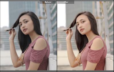 preset lightroom minimalis tone