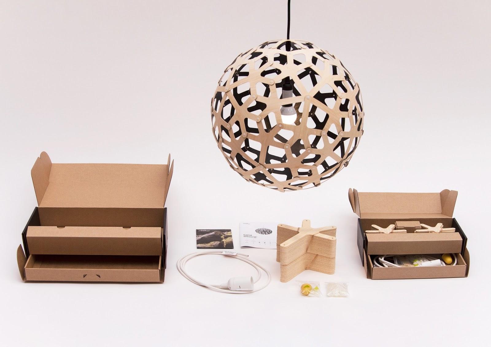 David Trubridge Lighting On Packaging Of The World