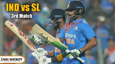 IND vs SL - India won 3rd match and series