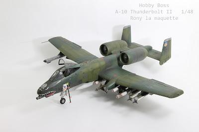 A-10 thunderbolt II  hobby boss
