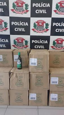 Polícia Civil de Miracatu recupera parte de carga de Azeites Roubados