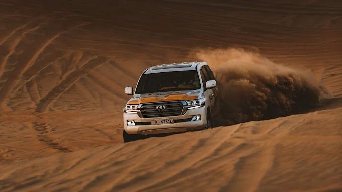 Toyota, SUV, Carro, Deserto