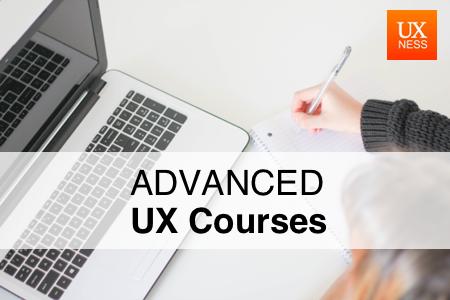 Advanced UX course