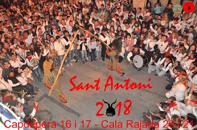 cartel Sant Antoni Capdepera