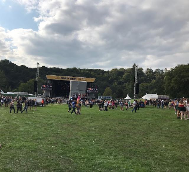 Bingley Music Live Festival 2018 - the festival site