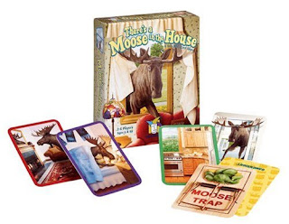 There's a Moose in the House card game
