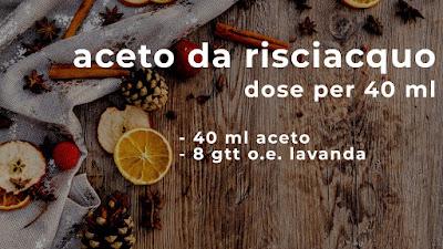 aceto da risciacquo - www.glialchimisti.com