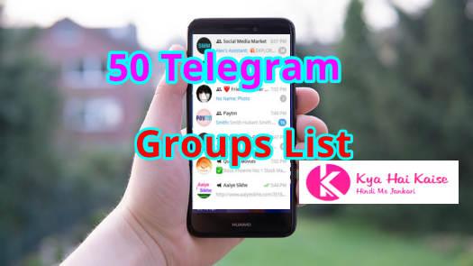 50 Telegram Groups List 2019