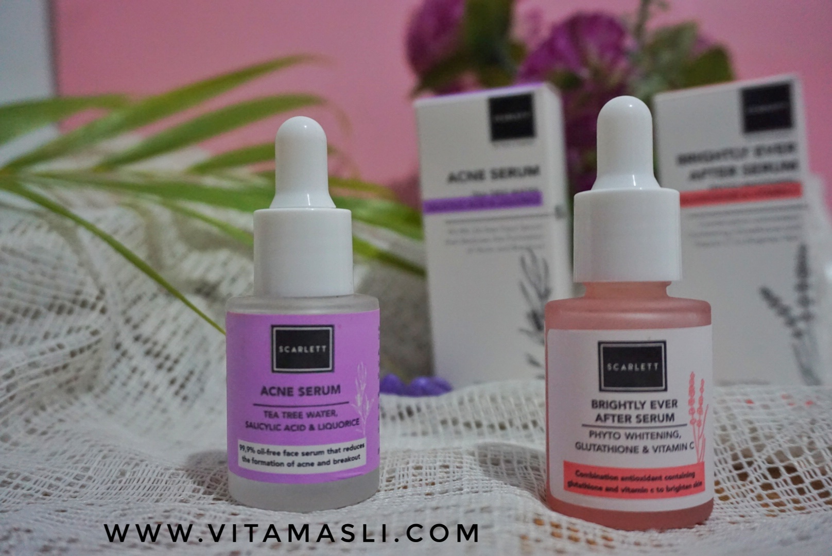 Scarlett Whitening Serum review