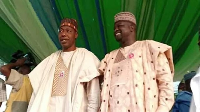 Borno Gov. Zulum Hands Over To Deputy Umar Kadafur