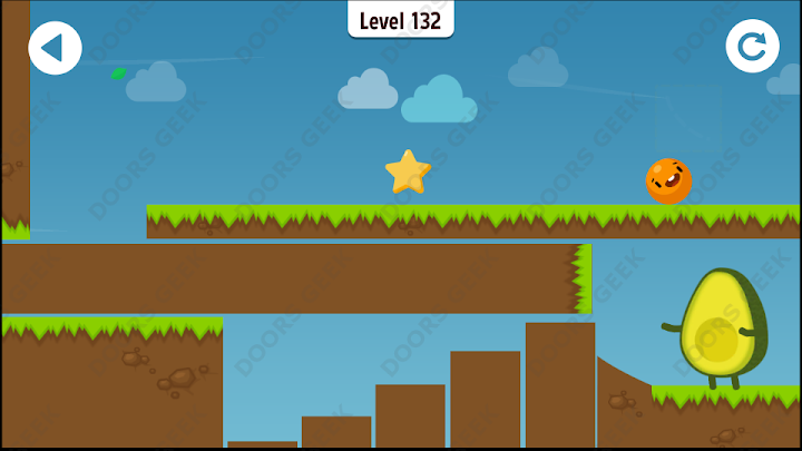 Where's My Avocado? Level 132 Solution, Cheats, Walkthrough, 3 Stars for Android, iPhone, iPad and iPod
