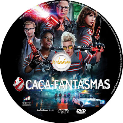 Label DVD Caça Fantasmas (2016)