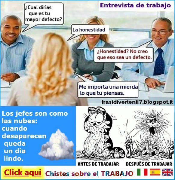 http://frasidivertenti7.blogspot.it/2014/11/trabajo-chistes.html