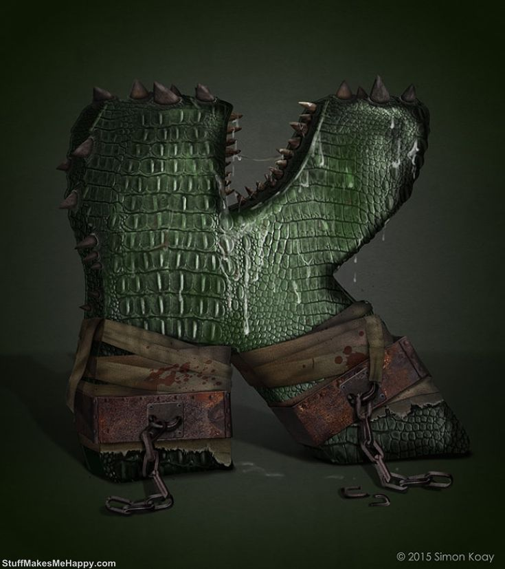 K - Killer Croc