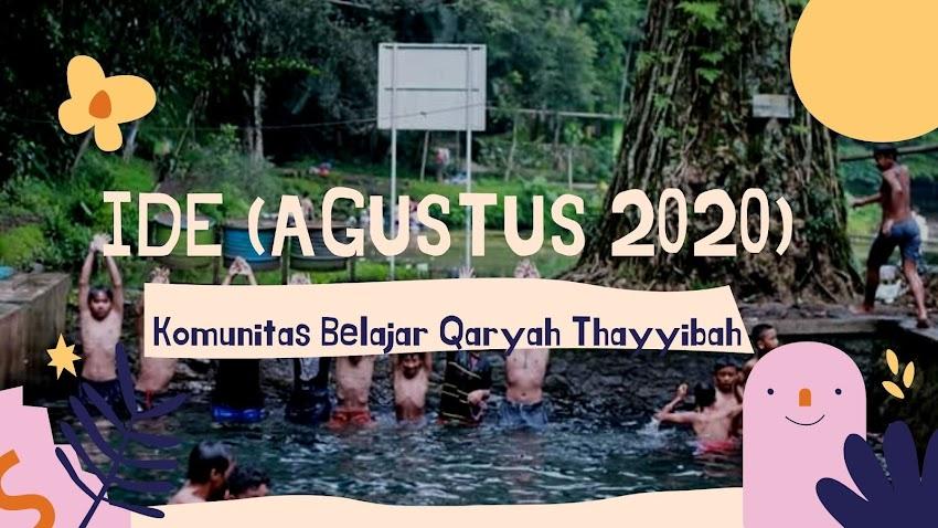 Ide Agustus 2020: Kenali Diri Sendiri Selama Belajar Daring
