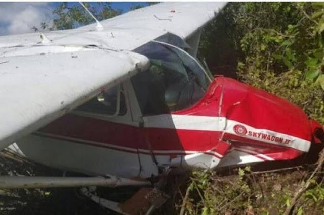 Mueren dos personas en accidente aéreo en el sur de República Dominicana