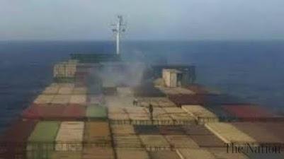 Iranian ship hit in attack in Mediterranean