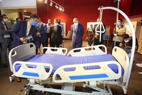 taroudantpress  العلمي: المغرب يصنع أجهزة التنفس الاصطناعي وأسِرّة الإنعاش  تارودانت بريس