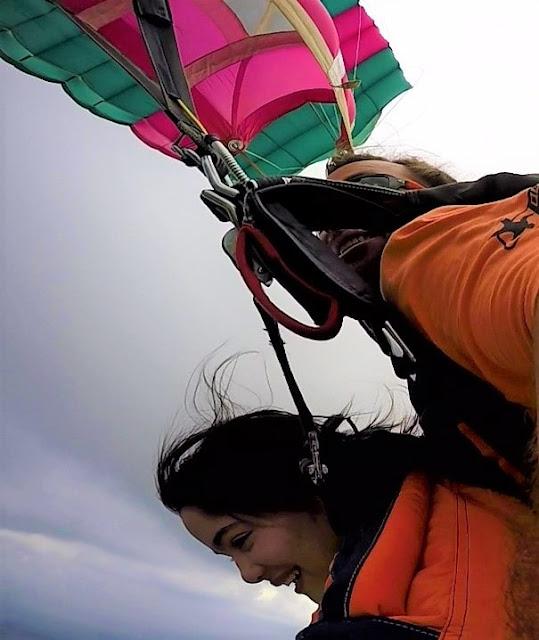 abertura de paraquedas