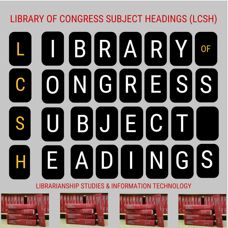 Library of Congress Subject Headings (LCSH)