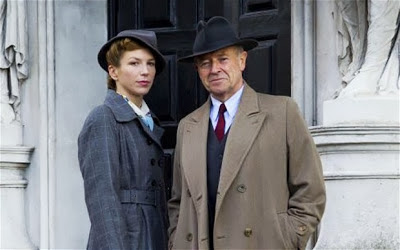 'FOYLE'S WAR,' SERIES SEVEN (2013). Michael Kitchen returns for a final season of the popular British mystery series. Text © Rissi JC