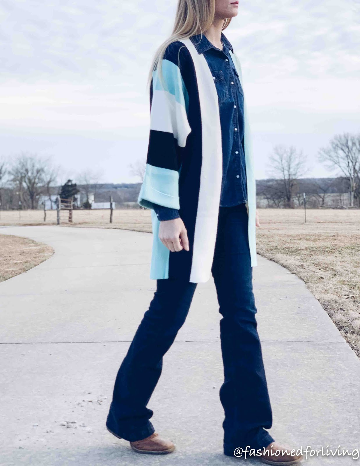 womens spring cardigan outfit