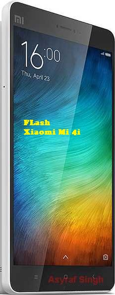 How To Flash Mi 4i Fastboot Mode