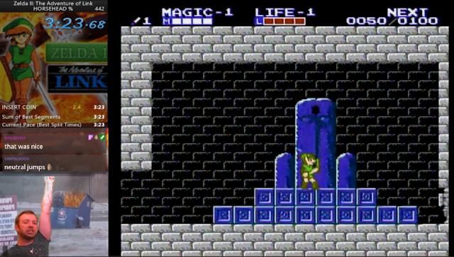 Zelda II Speedrun TravWhite