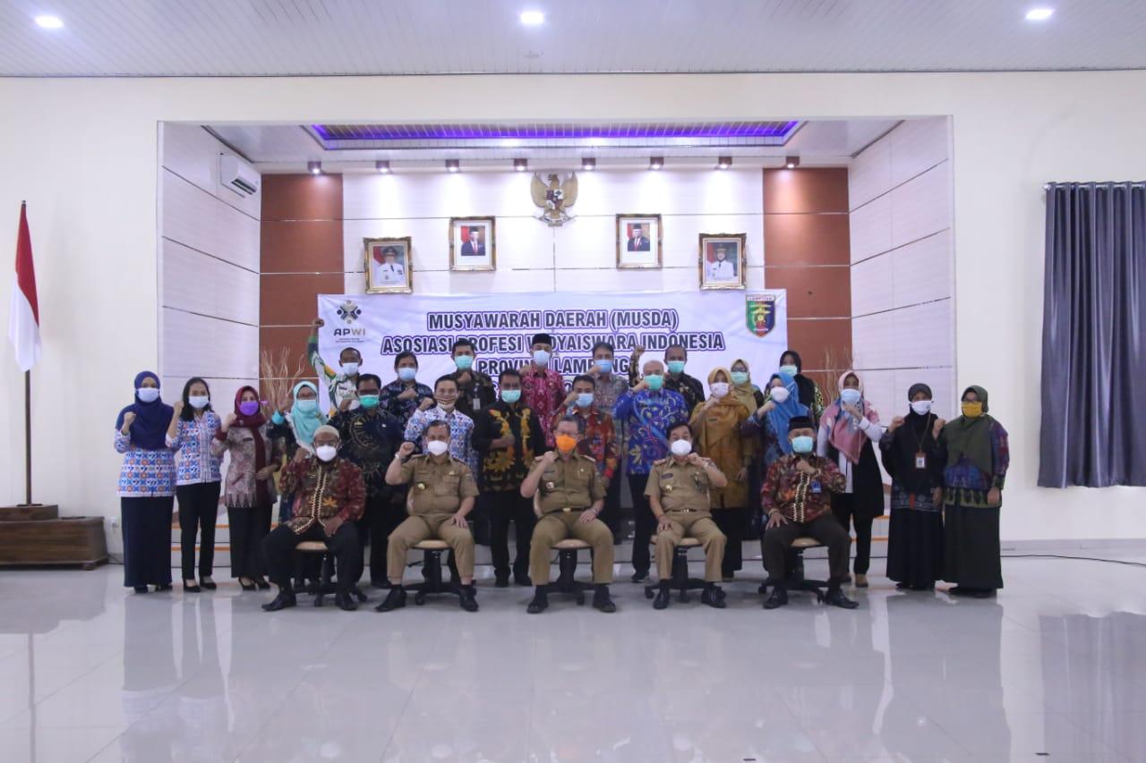 Musda Asosiasi Profesi Widyaiswara Indonesia Provinsi Lampung 2021, Gubernur Arinal Dorong Widyaiswara Jadi Garda Terdepan Wujudkan ASN Unggul dalam Pelayanan Publik